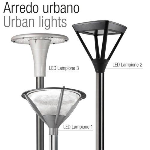 תאורה אורבנית מבית RELCOGROUP ITALY