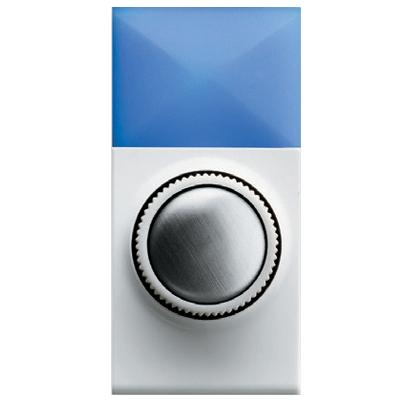 עמעם מחליף ללד- 4-160VA  220V  DIMLAMPLED 34 DLT לבן תואם BTICINO קוד יצרן -RP0956/LAMPS -עם אפס N לסינון מרעשים משופר